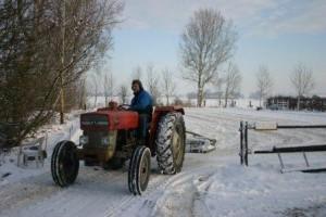 kees trekker sneeuw